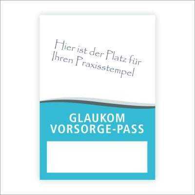 "Glaukomvorsorgepass ""Standard"""
